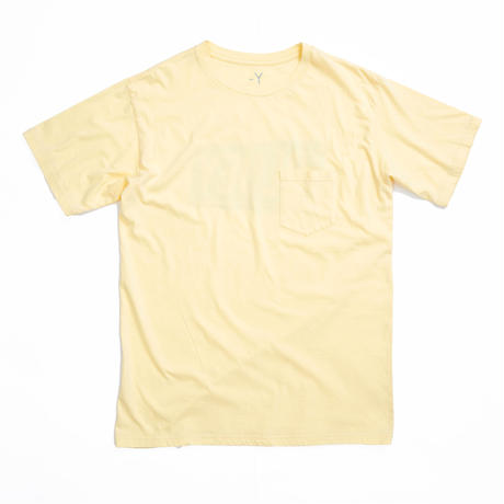 BLUEY FOAM POCKET TEE /  YELLOW / 13B19TS29FB