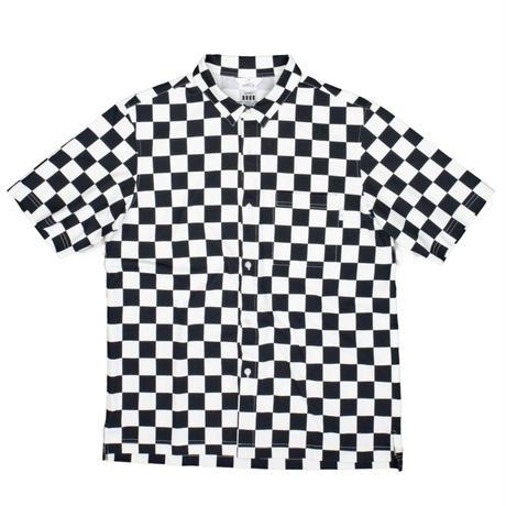 COVEROSS S/S SHIRTS / CHECK BLACK / 15B20SH06FB