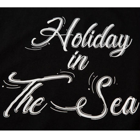 HOLIDAY IN THE SEA S/S TEE / BLACK / 15B20TS15FB