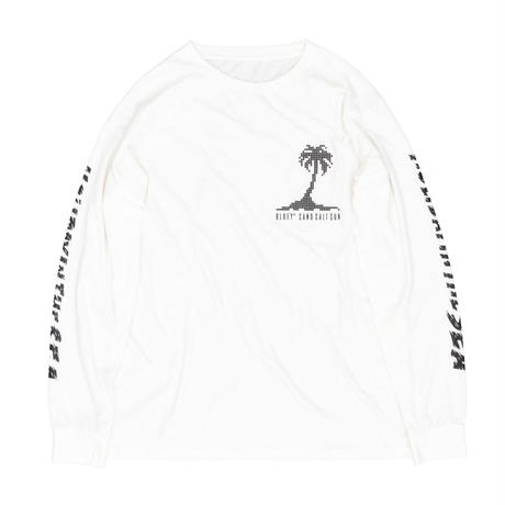 HOLIDAY IN THE SEA L/S TEE / OFF×BLACK / 15B20TS18FB