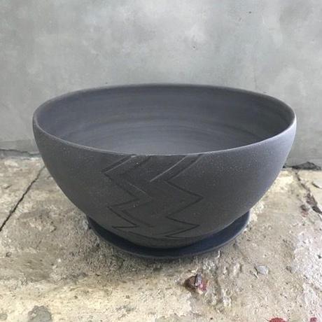 BOWL WAVE(M)ソーサ付 / BPA-0026
