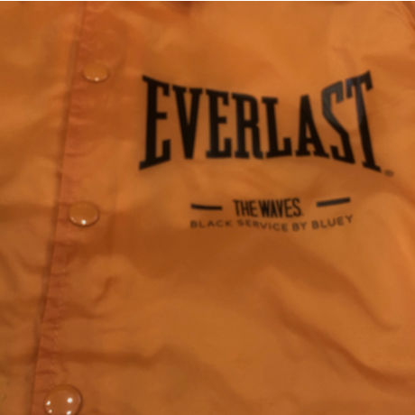 BLUEY×EVERLAST COACH JACKET / OREANGE / 15B20JK30TO-NB