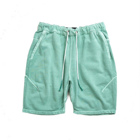 PIGMENT DIDE SWEAT SHORTS / GREEN / 13B19PA21FB