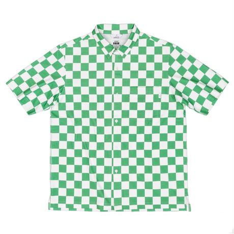 COVEROSS S/S SHIRTS / CHECK GREEN / 15B20SH06FB
