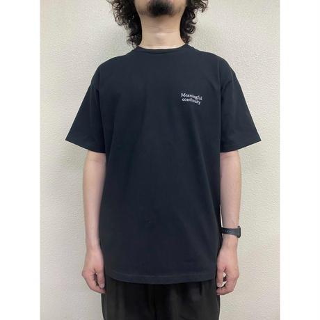 Meaningful continuity Basic T-shirts / Black / hm-002