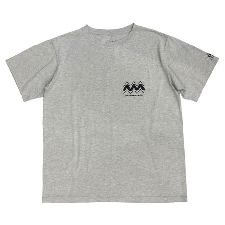THE SKATING AFTER S/S TEE / GREY / 14P19TS40OX
