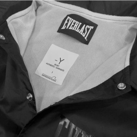 BLUEY×EVERLAST COACH JACKET / BLACK / 15B20JK30TO-NB