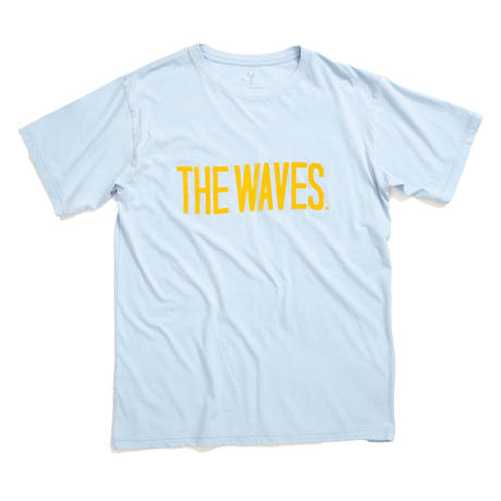 THE WAVES S/S TEE /  SAX / 13B19TS25FB