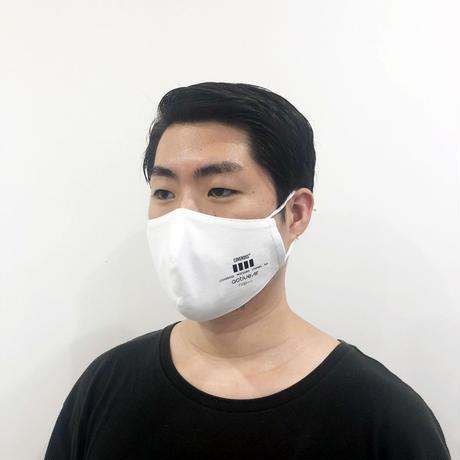 【カバロスウィザード真夏用限定モデル】ACTIVE AIR BLUEY FACE MASK / WHITE
