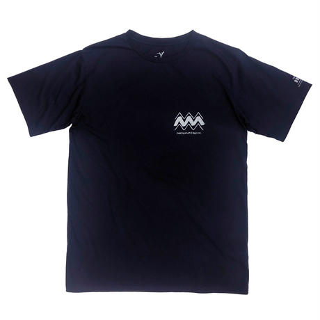 THE SKATING AFTER S/S TEE / NAVY / 14P19TS40OX