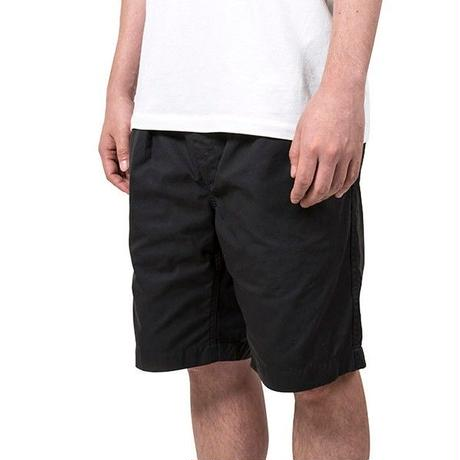 NYLON TASLAN GURKHA SHORTS / BLACK