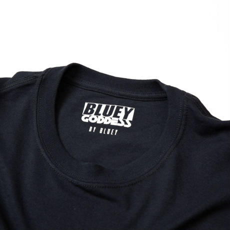 BLUEY×GODDESS L/S TEE / BLACK / 15B20TS29MP