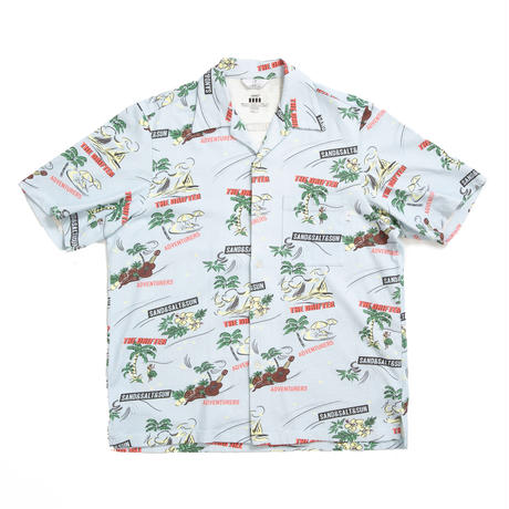 COVEROSS S/S SHIRTS /  SAX / 13B19SH01FB