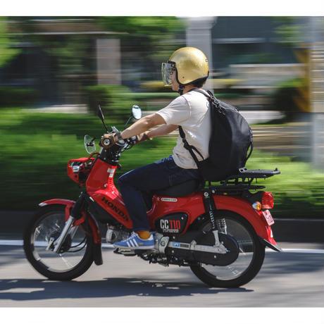 『荷物効率の最適化』仕事と趣味を詰め込め!超ド級【ギョウザ型45Lリュック】