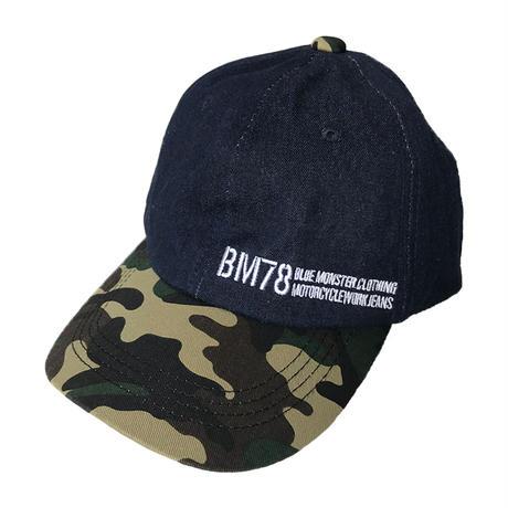 【消臭機能】「調整自由自在」迷彩柄ベースボールキャップ / BMC URBAN CAP with deorize / WUC78-21S175,21S193
