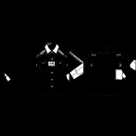 スーパー鬼割(30人限定 5,000円OFF):¥12,980(税込)【ライダー専用チェックシャツ】赤×黒 / 白×黒 :SL1003GT-22S09,22S18  / 予約販売10/31まで