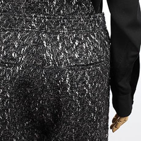 スラブヘリンボンサロペット   c/#BLACK  65581-001