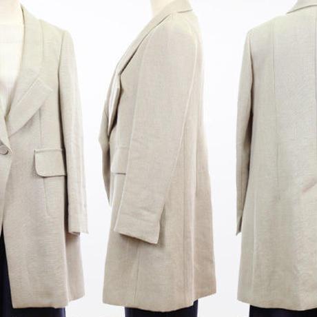 ラフリネンロングジャケット  c/#BEIGE  45460-008