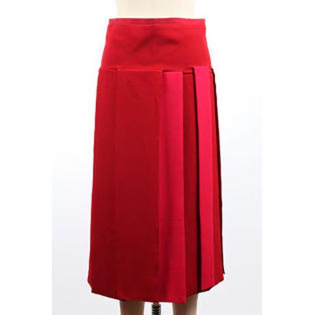 カラーパネルスカート  c/#RED   75628-114