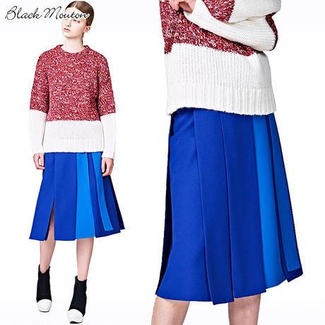 カラーパネルスカート  c/#BLUE   75628-105