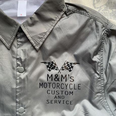 M&M's MCコーチジャケット (グレー )