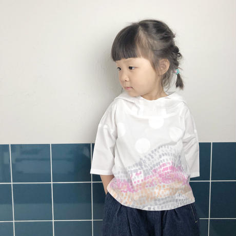 <nonco. collaboration > pullover hoodie    -kids-