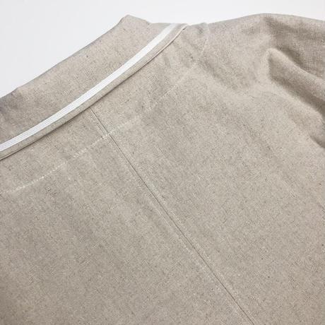 half linen shirt  jacket