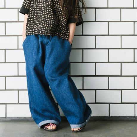 yuru denim pants