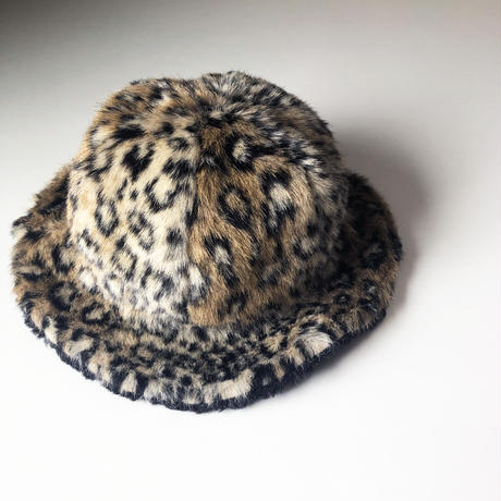 leopard fur hat