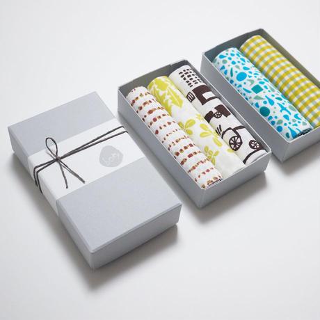 手拭いギフトボックス(2〜3枚用)