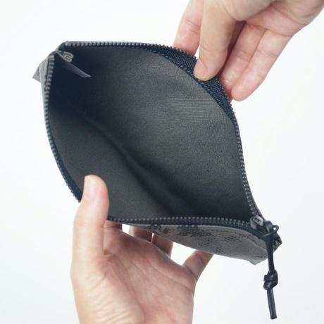 pouch 185F グレー×黒【 yama 】