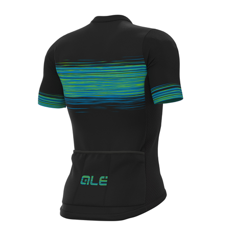 START JERSEY(BLACK/FLUO GREEN)