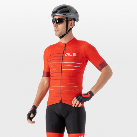 ERGO JERSEY(RED/SILVER)