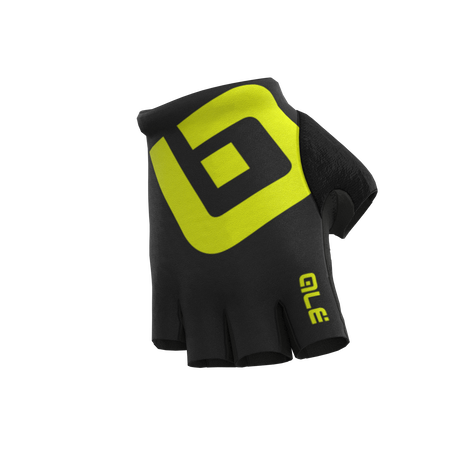 AIR GLOVES BLACK/FLUO YELLOW