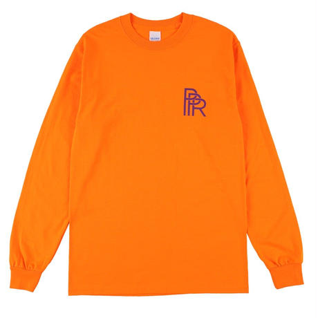 Original Long Tee(Orange × Purple)