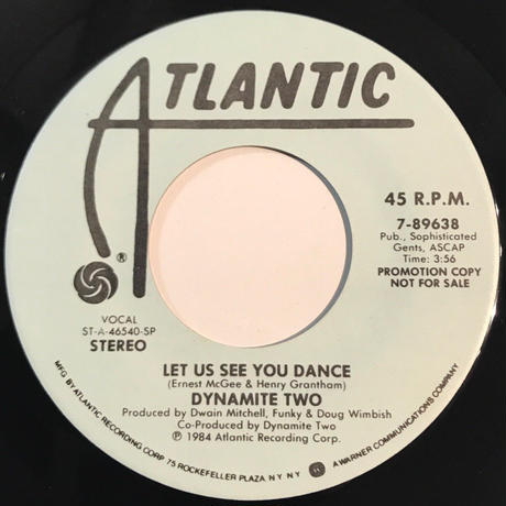 DYNAMITE TWO:LET US SEE YOU DANCE