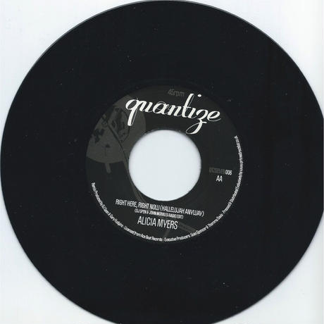 SPANCER MORALES:WITHOUT YOUR LOVE/ALICIA MYERS:RIGHT HERE RIGHT NOW