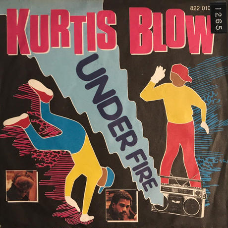 KURTIS BLOW:UNDER FIRE