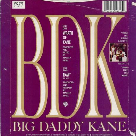 BIG DADDY KANE:WRATH OF KANE