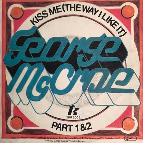 GEORGE MCCRAE:KISS ME