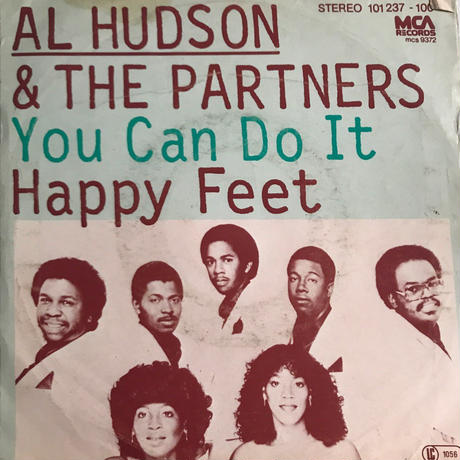 AL HUDSON & THE PARTNERS:YOU CAN DO IT