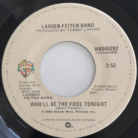 LARSEN-FEITEN BAND:WHO'LL BE THE FOOL TONIGHT