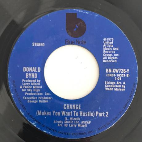 DONALD BYRD:CHANGE