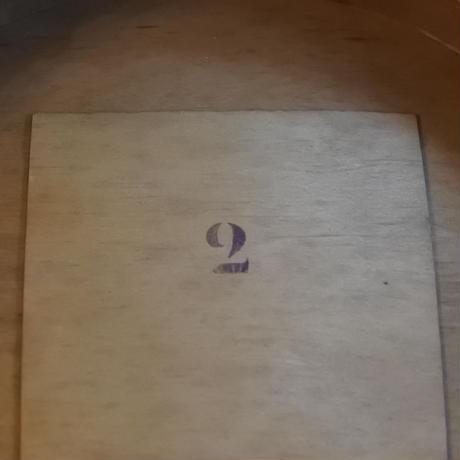 木箱入りアンティークトップハット(SARRAUTE)