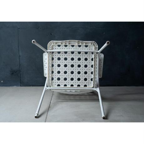 白いガーデンチェアー/1950FRANCE