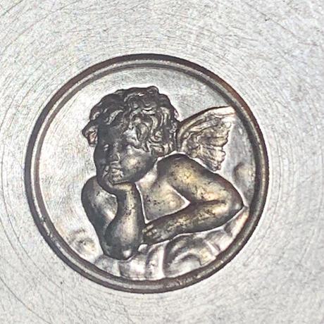 頬杖をつく天使・アンティークメダイユの型