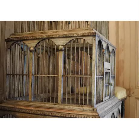 フランスアンティーク・大きな鳥籠