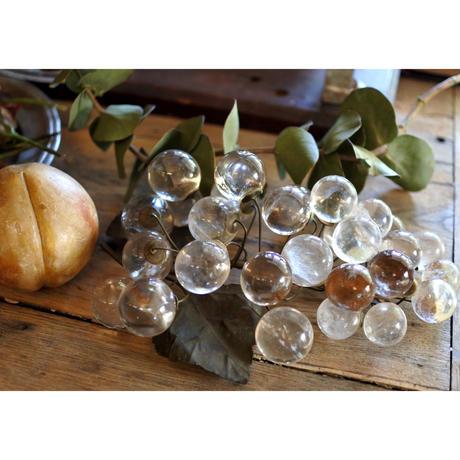 アンティーク・硝子の葡萄