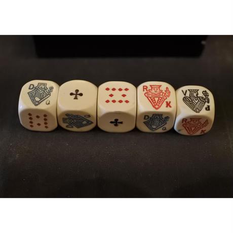 ポーカーのダイス FRANCE antique