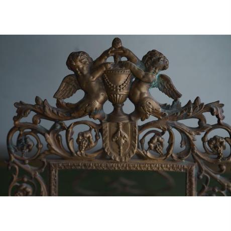 真鍮の天使・アンティークフレーム